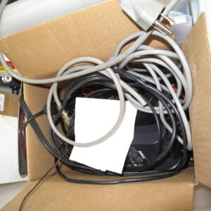 Assorted Cables, Dell Power Supply