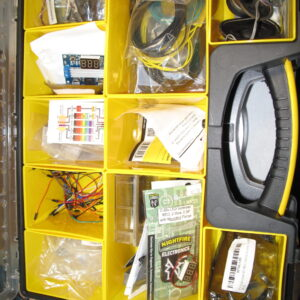 Storage Box, Assorted Parts
